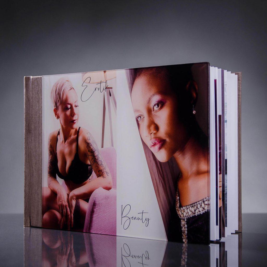 Premium Fotobuch mit Acrylglascover