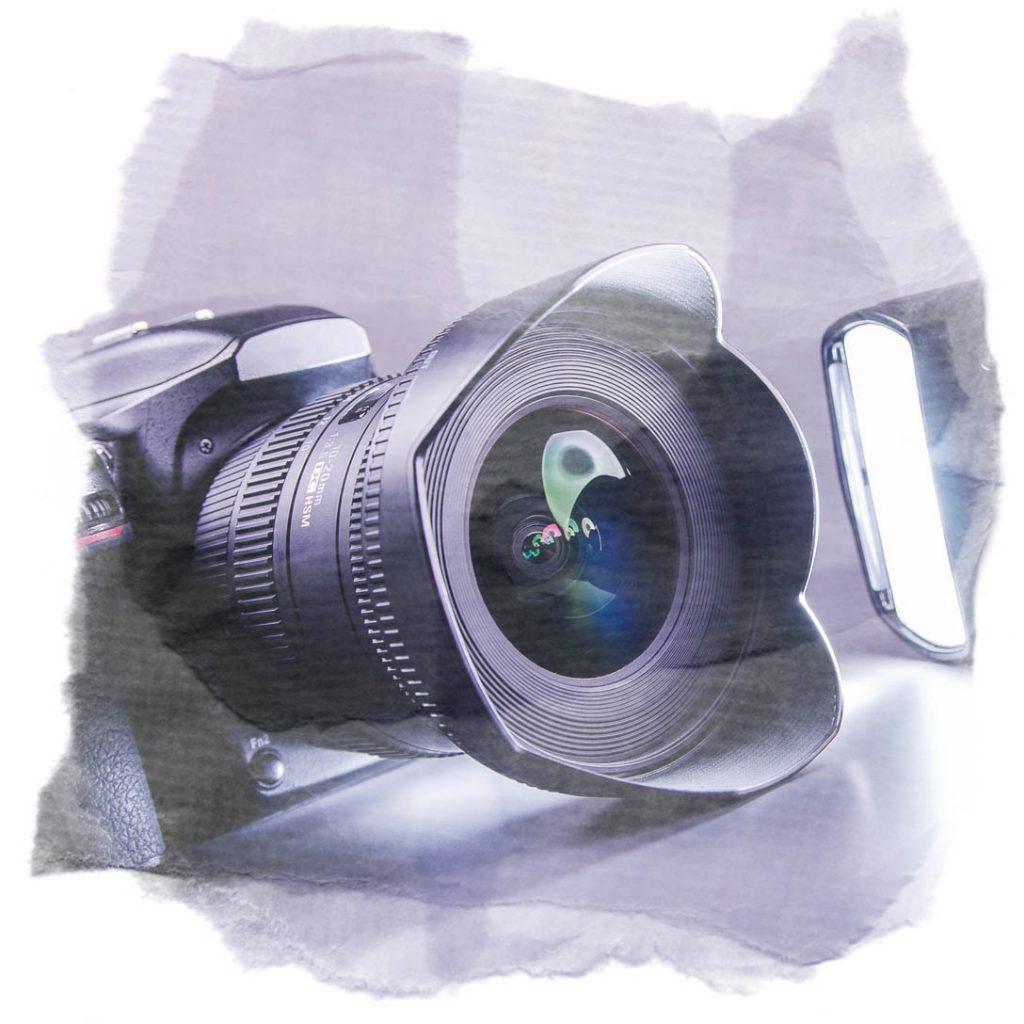 Digitale Spiegelreflexkamera für ein Beauty- und Erotikshooting